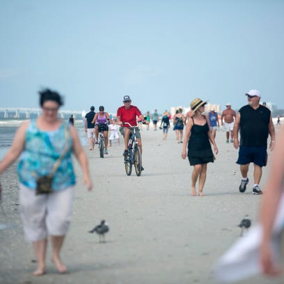 Snowbirds and vacationers make their way north on Fort