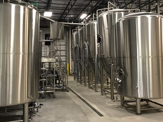 The 20-barrel brewing system at Scotty's Bierwerks is the largest in Southwest Florida.