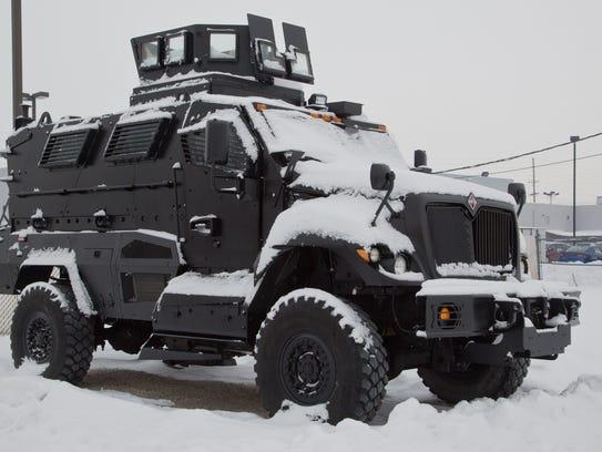 -LAF WLPD armored vehicle_01.jpg_20140113