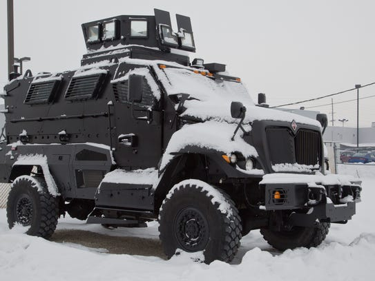 Overkill Small Town Buys Armored Swat Vehicle