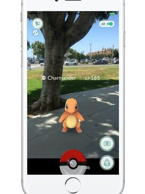 A screenshot for 'Pokémon Go.'