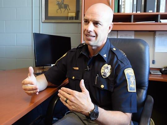 Chief Daniel Stump of the Springettsbury Township Police