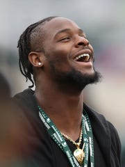 Former Michigan State running back Le'Veon Bell before