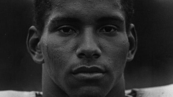 SEPTEMBER 1982: Hiawatha Francisco, Moeller speedster.