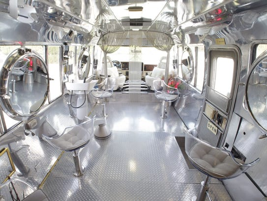 Hairstream is outfitted with eight seats and capability