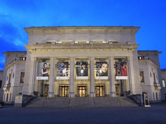 The Palladium at Carmel's Center for the Performing Arts is shown on Friday, March 28, 2014.