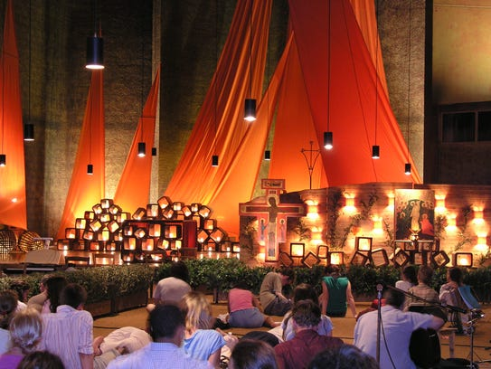 A Vespers/Taize service will be held at 7:30 p.m. Wednesday,