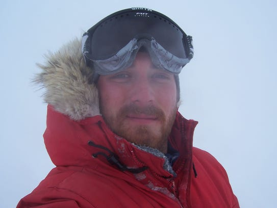 Phil Van Benthem in Antarctica.
