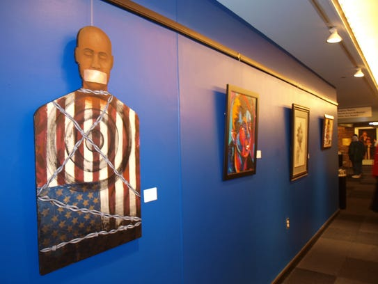 Exhibition D View : African american art show has significant history