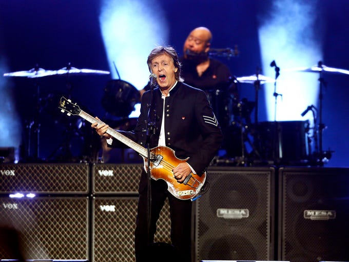 Paul McCartney plays his 2013 song, 'Save Us' during