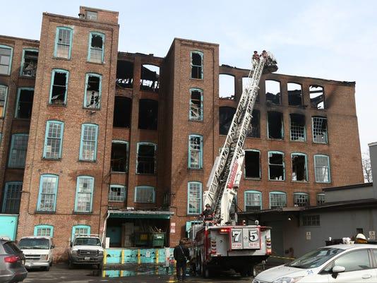 LEAD 1A Yonkers carpet mill fire