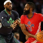 Do the Houston Rockets have a shot at LeBron James in free agency? It's not outlandish