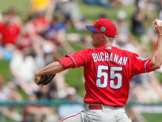 MLB: Spring Training-Philadelphia Phillies at Atlanta Braves