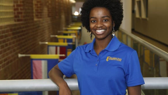 Chelsey Davis, a student at Pellissippi State Community