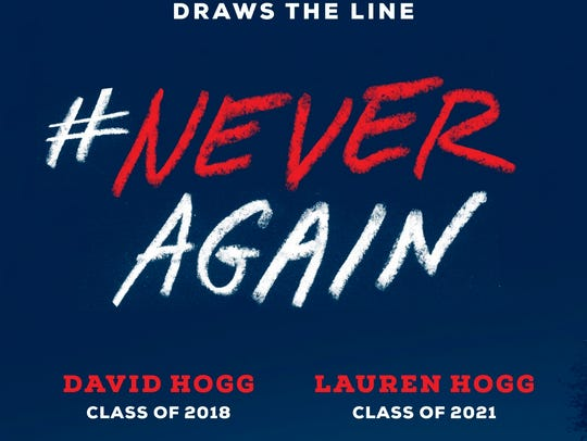 """#NeverAgain"" by David Hogg and Lauren Hogg"