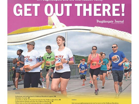 """The cover to the Journal's special """"Get Out There!"""" section."""