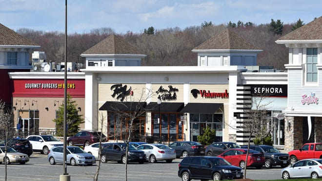 People travel to Millbury to shop, eat, and see movies at the Shoppes at Blackstone Valley.