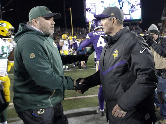 Mike Zimmer, Mike McCarthy