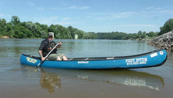 Bennie Giles, a retired Army veteran, is canoeing the length of the Mississippi to raise money for Homes for Troops and for a little soul-searching.