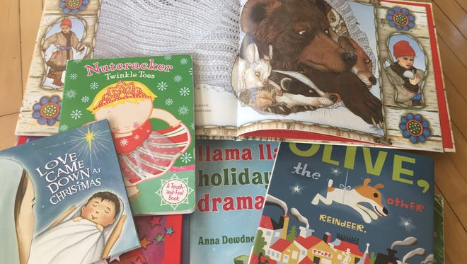 A collection of favorite holiday books.