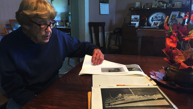 After graduating from the Toledo School of Nursing, Alice Miller enlisted in the Navy.