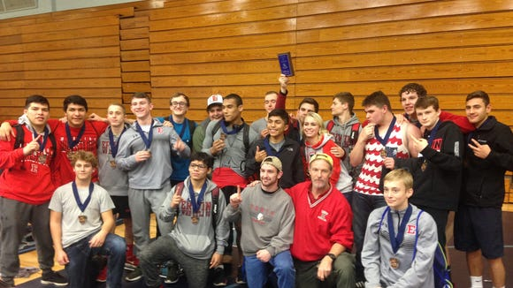 Erwin won Monday's Enka Duals wrestling tournament.