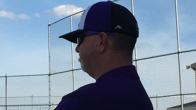 Mark King spent his final game Monday at the helm for Fremont Ross.