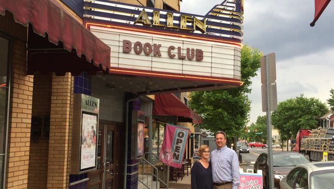 The new owners of the Allen Theatre, Ed and Sue Felty, are set to take over the business and adjacent coffeehouse on June 15, 2018.