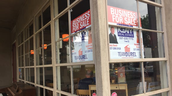 Carpe Diem in downtown Lafayette is for sale.