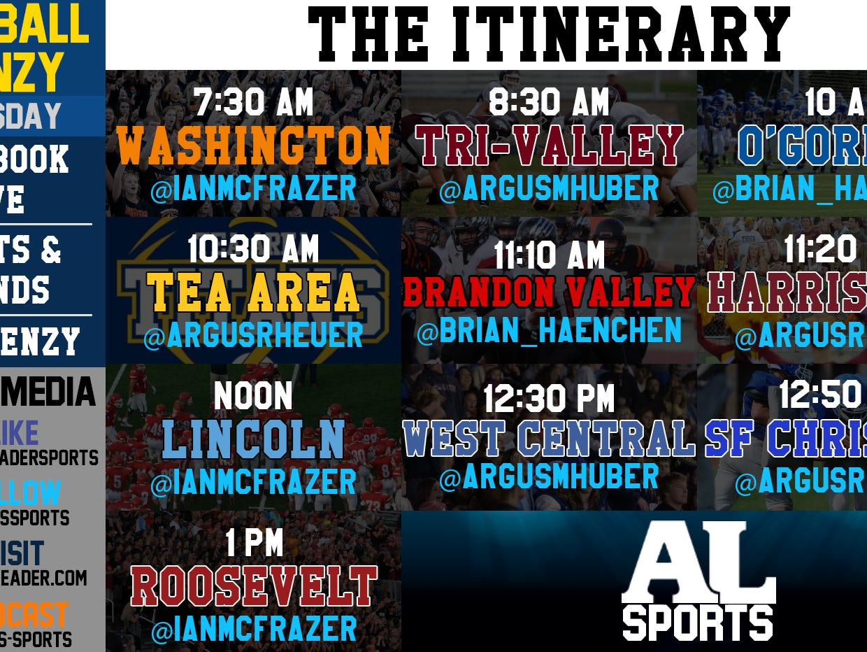 #FBFrenzy: The Itinerary