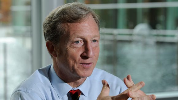 Tom Steyer, a billionaire environmentalist, has joined