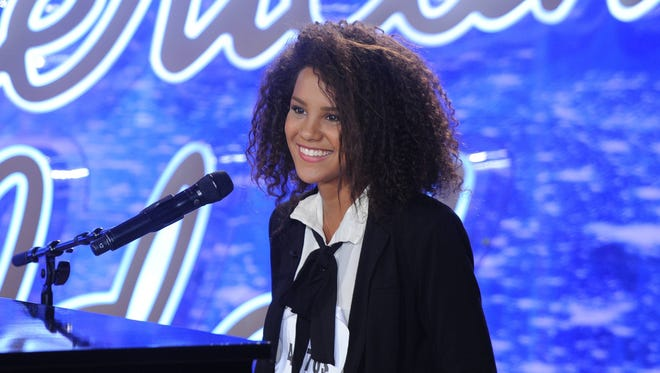 """Fifteen-year-old Tristan McIntosh of Nashville wowed the """"American Idol"""" judges with her audition."""