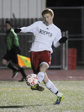 Senior captain Max Whipple netted three goals in a