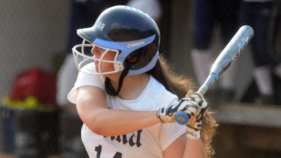 Addison Harris and the Enka softball team will be home for Friday's Game 3 of the 3-A Western Regional championship series.
