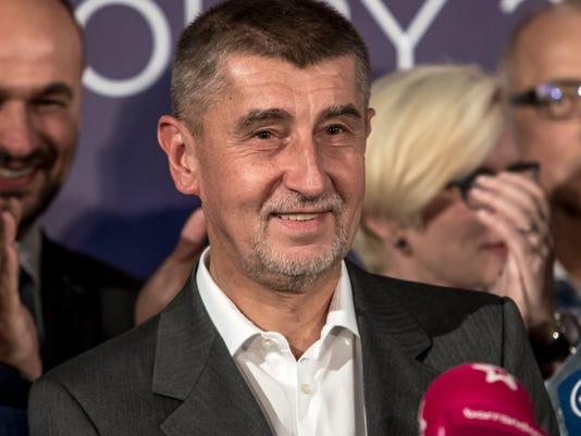 EPA CZECH REPUBLIC ELECTIONS POL ELECTIONS CZE