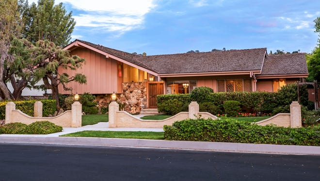 """This undated photo provided by Ernie Carswell & Partners shows the home featured in the opening and closing scenes of """"The Brady Bunch"""" in Studio City."""