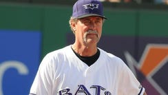 Ted Power with the Louisville Bats.