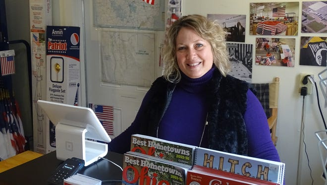 Larene Hall works to attract visitors to Coshocton County in her new role as director of the Coshocton Visitors Bureau.