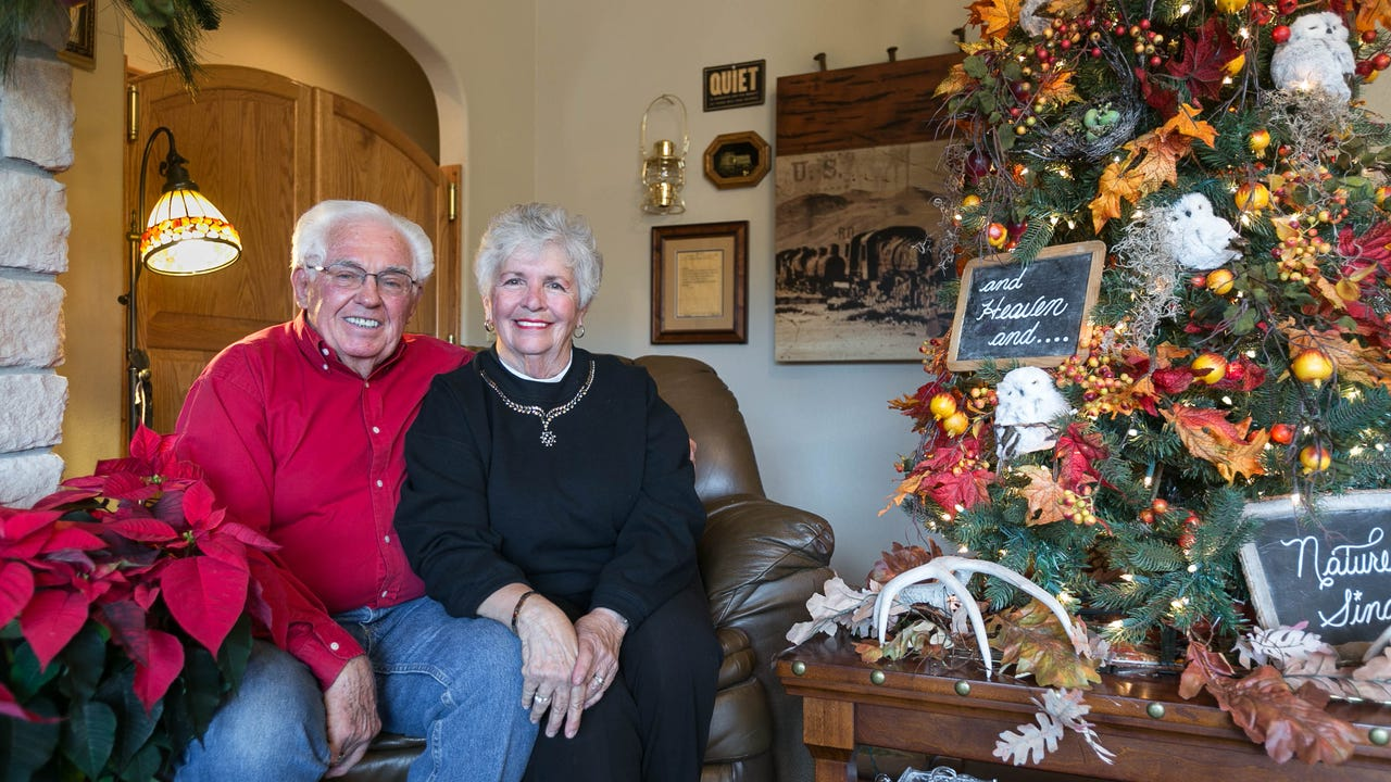 When Roberta and Paul Thompson married in 1960, they decided to honeymoon in Branson. They retired in 2008 to their current home in Cape Fair with views of Table Rock Lake.