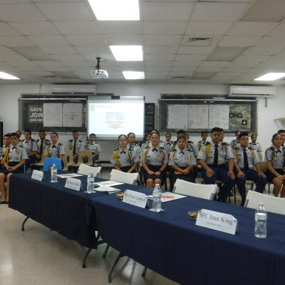 Guam DOE's Army JROTC program receives first-time accreditation