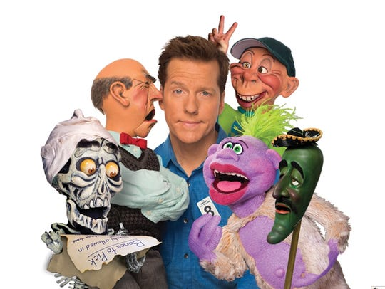 Jeff Dunham and his friends.