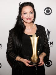 Crystal Gayle attends the 10th annual ACM Honors in 2016 in Nashville, Tenn.