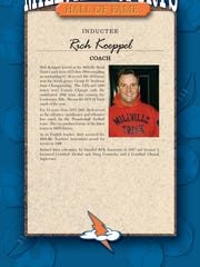 Rich Koeppel will be inducted into the Thunderbolt