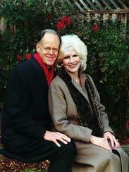 Diane Rehm with her late husband, John.