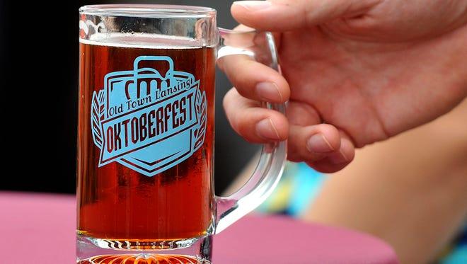 Mug from Old Town Oktoberfest 2015.