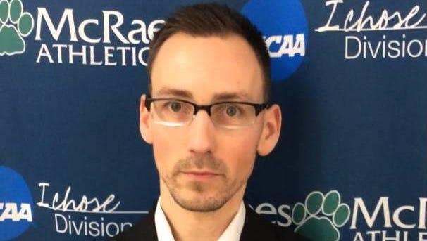 Lees-McRae men's basketball coach Steve Hardin.