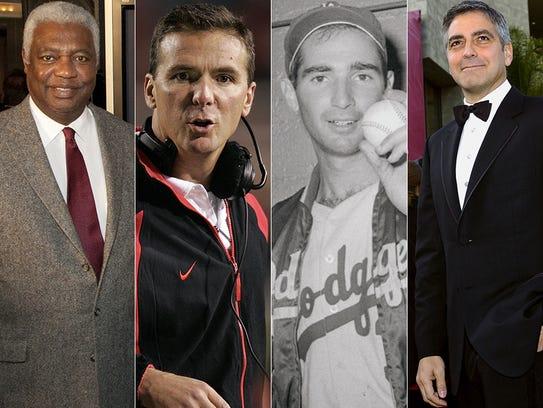 L to R: Oscar Robertson, Urban Meyer, Sandy Koufa and