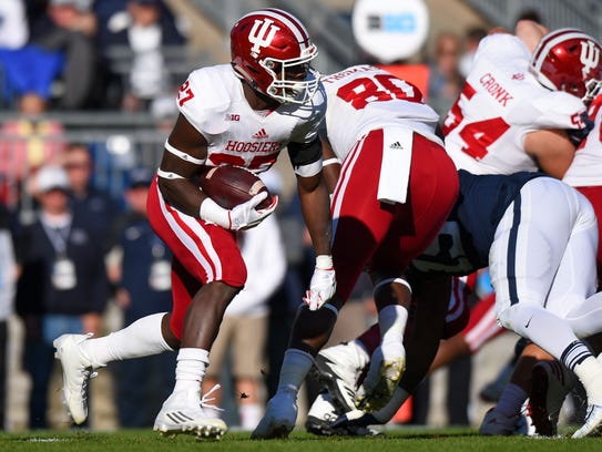 Morgan Ellison led IU in rushing as a freshman last