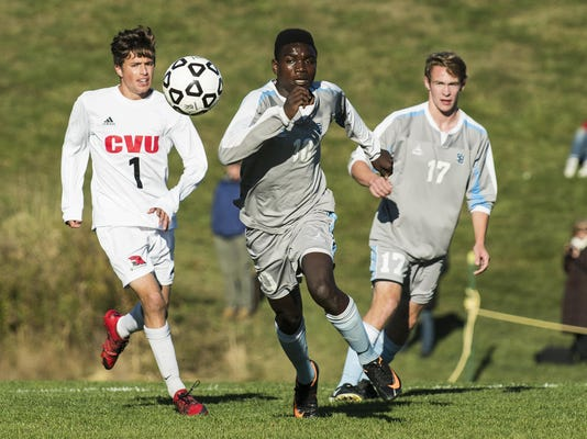 South Burlington vs. CVU Boys Soccer 10/10/16