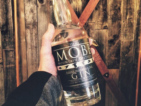 Mobb Mountain Distillers makes rye gin and whiskey.